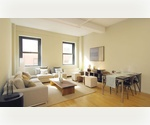 ★No Fee - Financial District★Gigantic! Tons of light! Gorgeous Duplex 2BR with a Huge Living Room and Mezzanine!!! Call ASAP